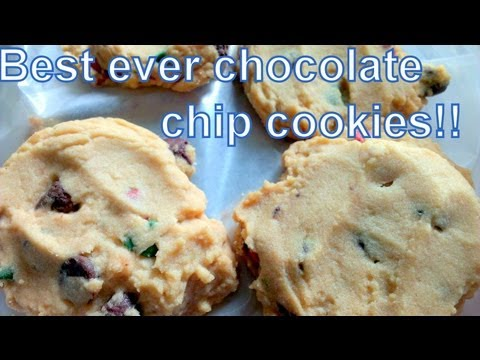 How to Make the Best Ever PERFECT Chocolate Chip Cookies