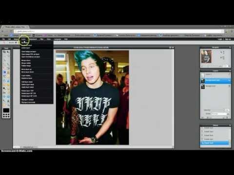 How to make punk edits on Pixlr.com