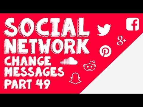 New Social Network - Part 49 - Finishing messages