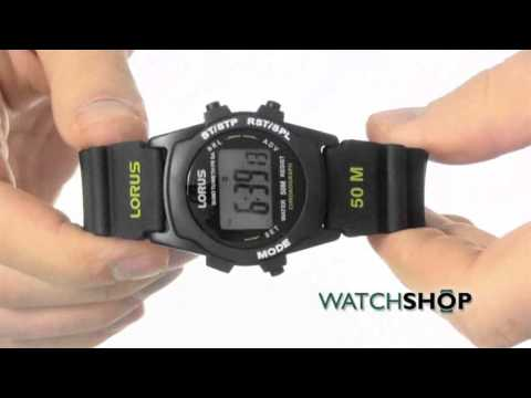 Lorus Men's Chronograph Watch (R2359AX9)
