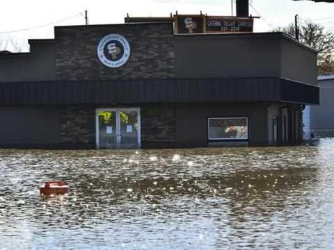 Lansing flood, Michigan floods after extreme rainfall, Lansing Zoo