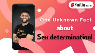 One Unknown Fact About Sex Determination! 🧐 | #Shorts | CBSE Class 10 Biology | Vedantu 9 and 10