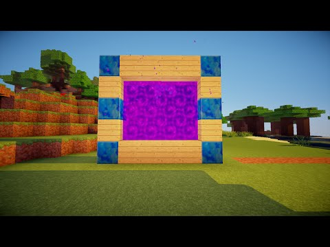 Minecraft - How to make a Portal to ROBLOX!!! (No mods)