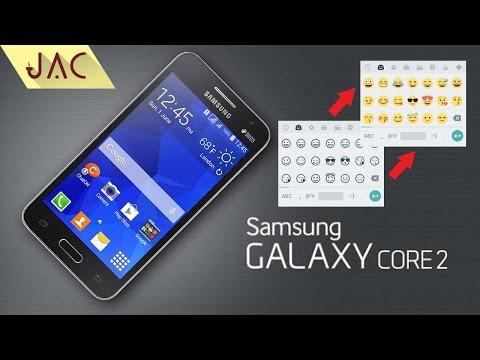 Cara Ganti Emoji Galaxy Core 2 [JAC Art Code]