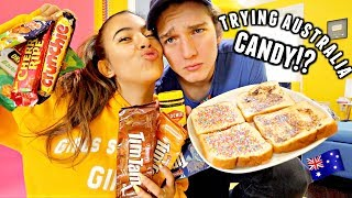 TRYING AUSTRALIAN CANDY!? + Melbourne, Australia vlog🇦🇺🐨🍫