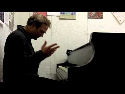 How to play piano scales