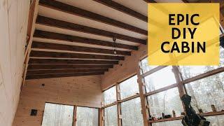 Creating the most INSANE Cabin Interior - Cabin Build Ep.45