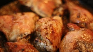 Roast Chicken With Soy Sauce
