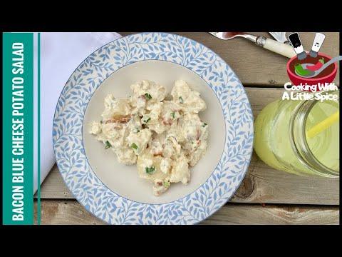 Bacon Blue Cheese Potato Salad Recipe