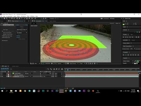 AFTER EFFECTS CAMERA TRACKING Tut | Easy Beginner *3d objects in Real Video*