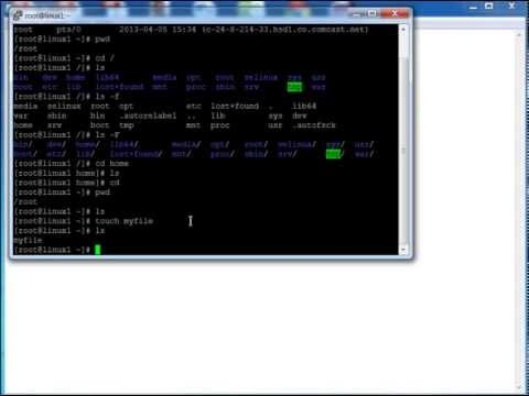 Linux Training - HOW TO Log into Linux with Putty and Basic Linux Commands