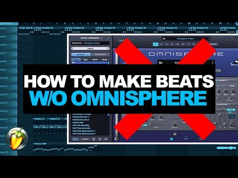HOW TO MAKE A TRAP BEAT IN 2017 WITHOUT OMNISPHERE | FL STUDIO 12 COOKUP FROM SCRATCH