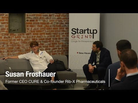 Susan Froshauer (co-founder Rib-X Pharmaceuticals now Melinta)