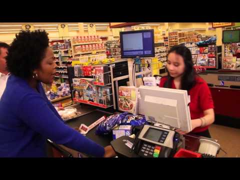 Jessica Brown- Upset Customer- Grocery store commercial