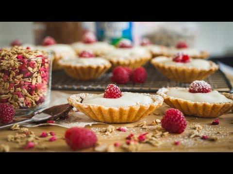 EASY NUTELLA, COCONUT and RASPEBERRY TARTS for Valentine's Day │Mi Terruno Food