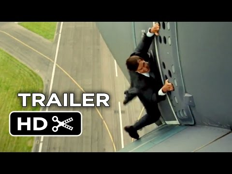 Mission Impossible Rogue Nation Official Trailer 1 2015 - Tom Cruise, Simon Pegg Spy Movie HD