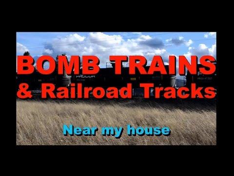 Bomb Trains and Railroad Tracks - Spokane Valley, WA