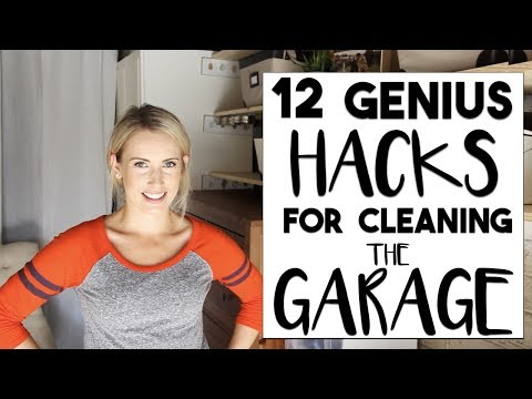 ORGANIZE: 12 Hacks to Transform a Messy Garage | Making the Most of Our Small Space!