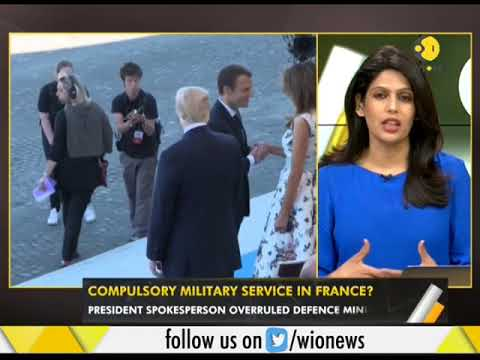 WION Gravitas: Compulsory military service in France?