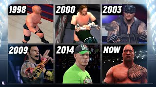 A Visual History of WWE Video Games on Playstation