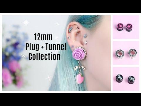 12mm Plug & Tunnel Collection