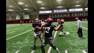 Tua Tagovailoa first practice after high-ankle sprain