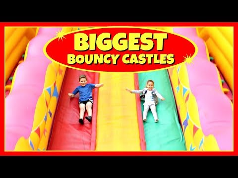 BEST Bouncy Castles, Inflatable Toys and Rides!