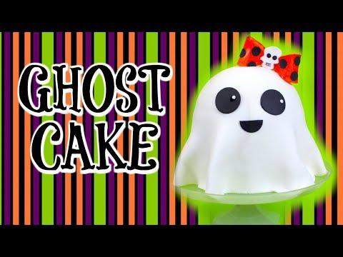 SUPER EASY GHOST CAKE
