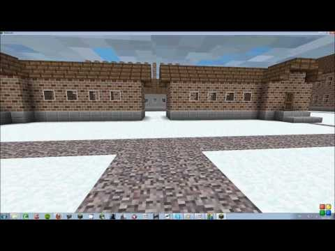 Minecraft Auschwitz 1