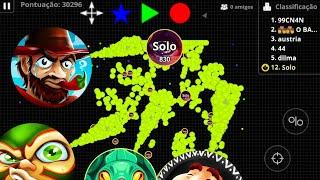 SOLO vs ALL // Big zoom // Macro // New skins - AGARIO MOBILE