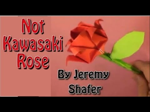 How To Fold the Not Kawasaki Rose