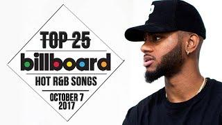 Top 25 • US R&B Songs • October 7, 2017   Billboard-Charts