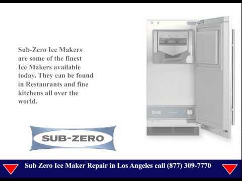 Sub Zero Ice Maker Repair Los Angeles