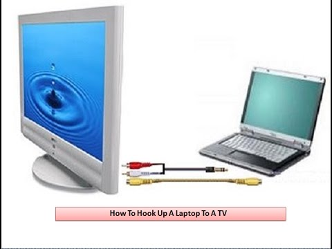 How to Hook Up A Laptop To A TV – Step By Step Guide