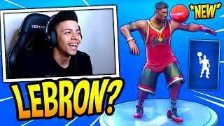 MYTH REACTS TO *NEW* BALLER (LEBRON) EMOTE/DANCE! Fortnite SAVAGE & FUNNY Moments