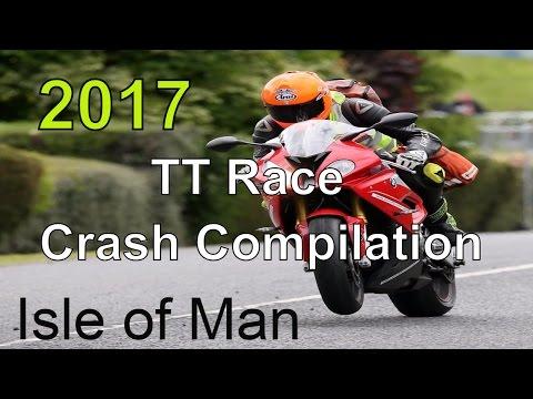 TT Race Crash Compilation Isle of Man - 2017 - YouTube