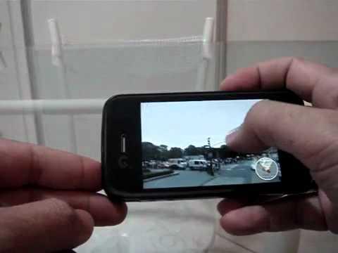 Google Maps com Google Street View no iPhone 4