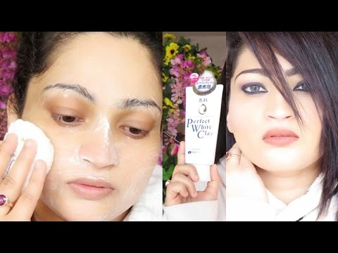 Super Skin Brightening Face Wash / Cleanser | Senka | Perfect White Clay | Pore Minimiser |