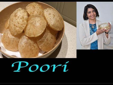 Poori Recipe- Perfect Round  and  Puffy Poori Recipe | Indian Poori recipe.