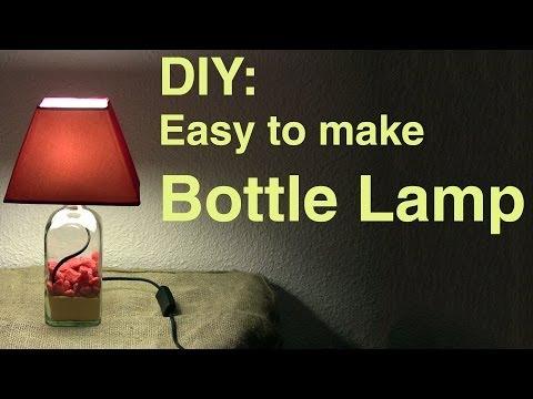 DIY: Easy to make Bottle Lamp