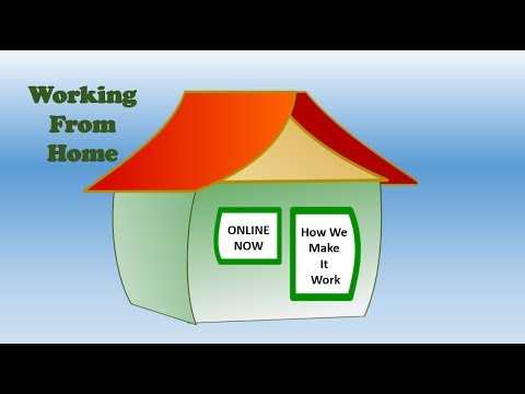 Working From Home Online   How We Make It Work