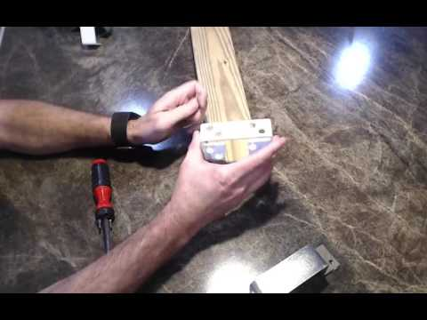2x4 secure bar holder features & how it works