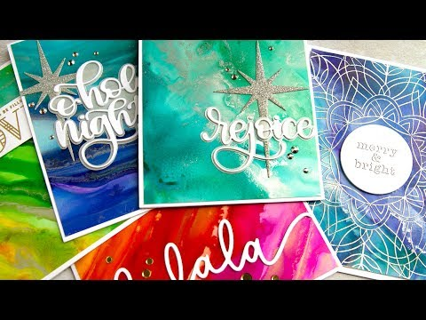 Easy Alcohol Ink Backgrounds