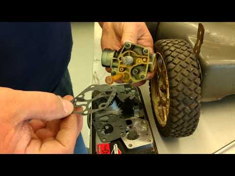 How to install carburetor gasket and diaphragm