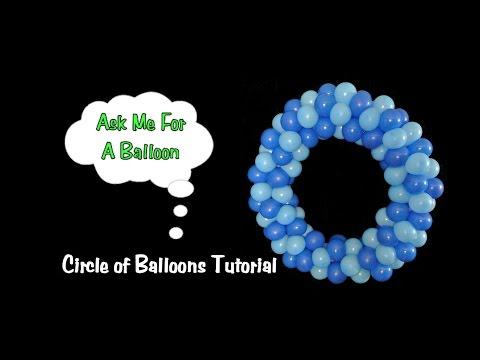 Balloon Decoration Tutorial - Circle of Balloons