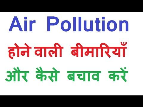 Air Pollution  जाने मुख्य कारण व बचाव कैसे करें Hindi  air pollution causes effects and solutions