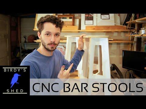 CNC Bar Stools