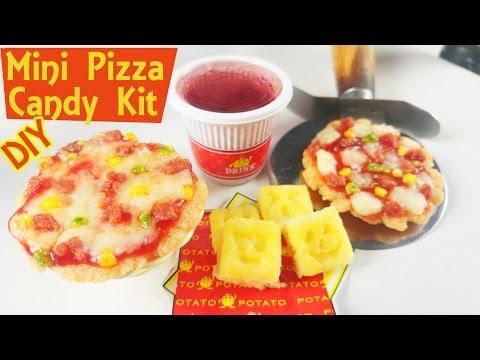 DIY CANDY KIT PIZZA popin cookin Kracie   Japanese Candy Kit Set