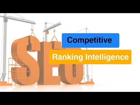 Competitive Ranking Intelligence Report Example