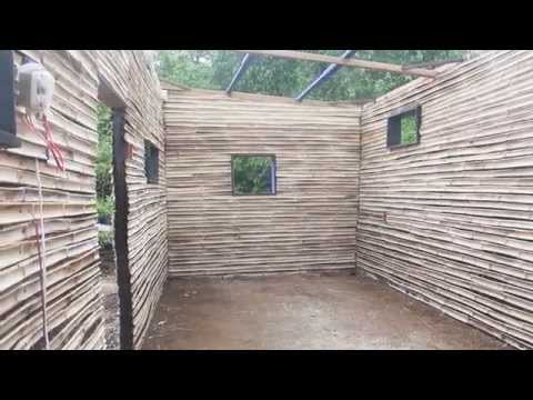 Murali-Rama House - Part 3/4: Bamboo wall system